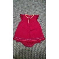 Vestido Bibe - 6 a 9 meses - BIBE