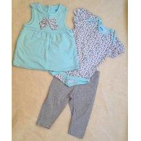 Trio Azul - 6 a 9 meses - bon bébé e Place