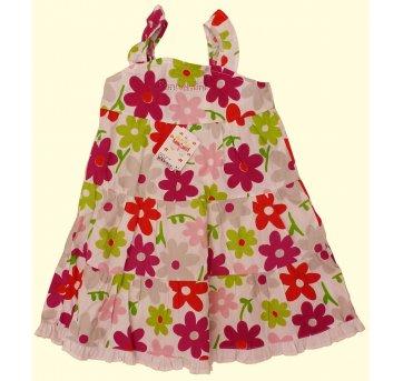 FP141. Vestido Floral Bonnemini - 4 anos - Bonnemini