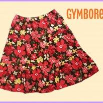FP271. Saia Midi Floral - 9 anos - Gymboree