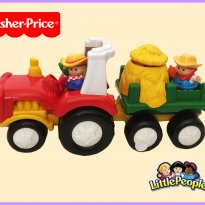 FP261. Trator Little People - Sem faixa etaria - Fisher Price