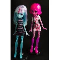 334. Monster High Blob and Ice Crie sua Monstrinha - Sem faixa etaria - Monster High