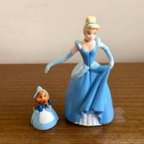 FP345. Miniatura Cinderella e Ratinha - Sem faixa etaria - Disney