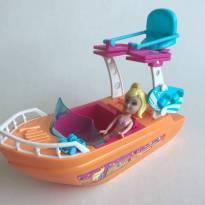 FP343. Barco Splash da Polly -  - Polly Pocket e Mattel