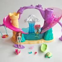 FP353. Kit Polly Sereia e Polly Surfista -  - Polly Pocket e Mattel