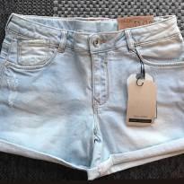 FP369- Short  Jeans Clarinho Zara - 11 anos - Zara