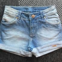 FP368- Short com Botão Dourado - 12 anos - Ou Girl - USA