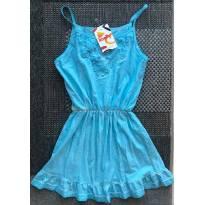 FP367- Vestido ou Saidinha de Praia - 10 anos - Kaelly