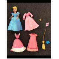 Boneca Cinderella pequena Disney -  - Disney