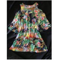 Vestido Tropical Lilica - 12 anos - Lilica Ripilica