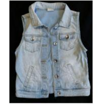 Colete Jeans Zara - 10 anos - Zara