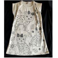Vestido Oncinha de Laço - 12 anos - Colorittá