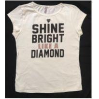 Blusa Diamante - 14 anos - Miss Trm
