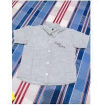Camisa manga curta - 6 a 9 meses - Tigor Baby