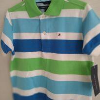 Blusa Polo Tommy Hilfiger - 3 anos - Tommy Hilfiger