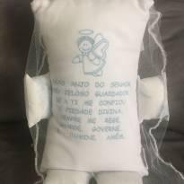 Naninha e almofadinha Anjo protetor -  - Nacional