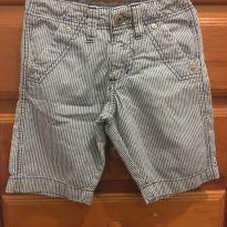 Bermuda jeans Listrado Brooksfield - 2 anos - Brooksfield Júnior