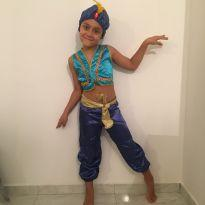Fantasia Aladin - 6 anos - Tango Fashion
