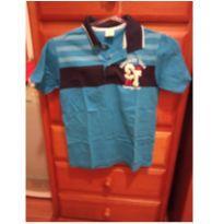 Camisa polo azul Brandili - 8 anos - Brandili