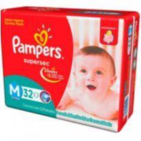 Bazar de fraldas - 25 pacotes Pampers + Huggies tam variados (P, M, G e XG) -  - PAMPERS e Huggies