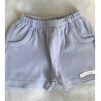 Shorts azul bebê - 3 a 6 meses - Patimini