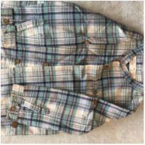 Linda camisa xadrez Zara - 12 a 18 meses - Zara Baby