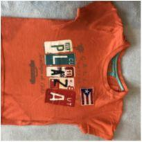 Camiseta laranja Chicco - 2 anos - Chicco