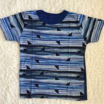 Camiseta tubarão - 18 a 24 meses - Mineral Kids