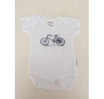 Body Bicicleta - 0 a 3 meses - Pimpolho