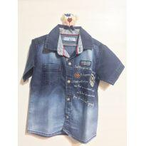 Camisa Jeans - 3 anos - Mini Boy