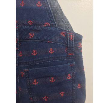 Macacão Jeans - 1 ano - Um mais um