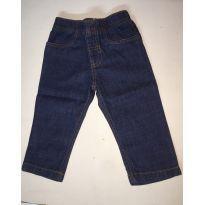 Calça Jeans sem bolso - 12 a 18 meses - Carter`s