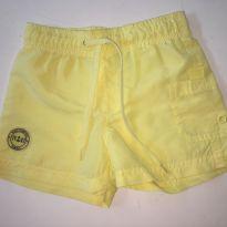Shorts Amarelo - 1 ano - Poim, Cherokee e Up Baby