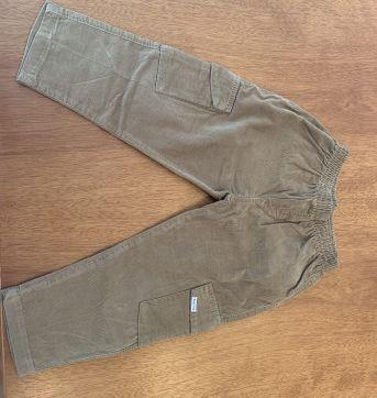 Calça Veludo com elástico - 2 anos - Sem marca