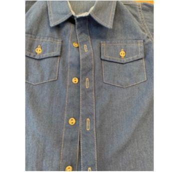 Camisa Social Jeans - 2 anos - HKN