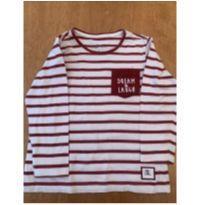 Blusa Malha Listrada - 2 anos - Poim