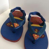 Chinelo Havaianas Baby Heróis Super Homem Azul 17 - 17 - Havaianas