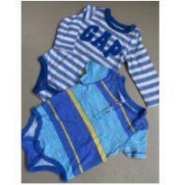 Bodys GAP passeio 6 a 12M - 9 a 12 meses - Baby Gap