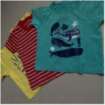 KIT 3 camisetas 24M CARTER's - 18 a 24 meses - Carter`s