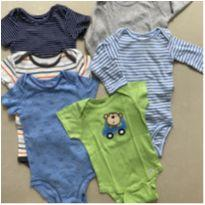 Kit 6 Bodys 12M Carters - 1 ano - Carter`s