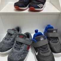 KIT 3 TENIS 22 8C NIKE E ADIDAS - 22 - Nike e Adidas