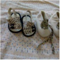 Kit de calçados de oncinha - 02 - Pimpolho e Tex