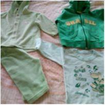 Lote de roupas frio menino - 3 a 6 meses - Carter`s e Tip Top