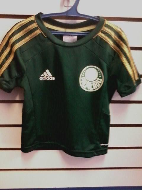 9597a927f8 Camisa palmeiras infantil comemorativa 100 anos 2 anos no Ficou ...