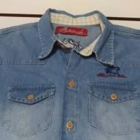 Camisa  Jeans Country Cowboy - 12 anos - Importada