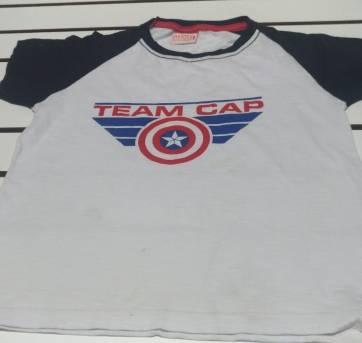 Camiseta  Capitão America - 8 anos - MARVEL