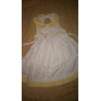 Lindo vestido Alphabeto tamanho 1 ano - 12 a 18 meses - Alphabeto