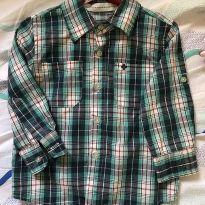 Camisa Xadrez - 18 meses - Poim, Cherokee e Up Baby