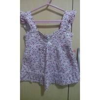Blusinha Floral - 4 anos - Palomino