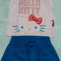 Conjunto Bello Kitty - 1 ano - Hello  Kitty